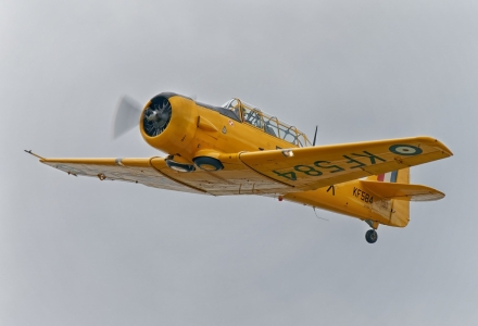 Historyczne samoloty nad Podhalem