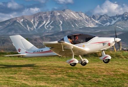 Józek Stachoń Tutoń jeden pilot dwie maszyny.